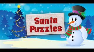 Christmas Jigsaw Puzzle for Kids - App Gameplay Video