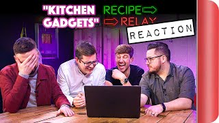 reacting-to-kitchen-gadgets-recipe-relay-video
