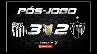Pós-Jogo | Santos 3X2 Atlético - Campeonato Brasileiro 2018