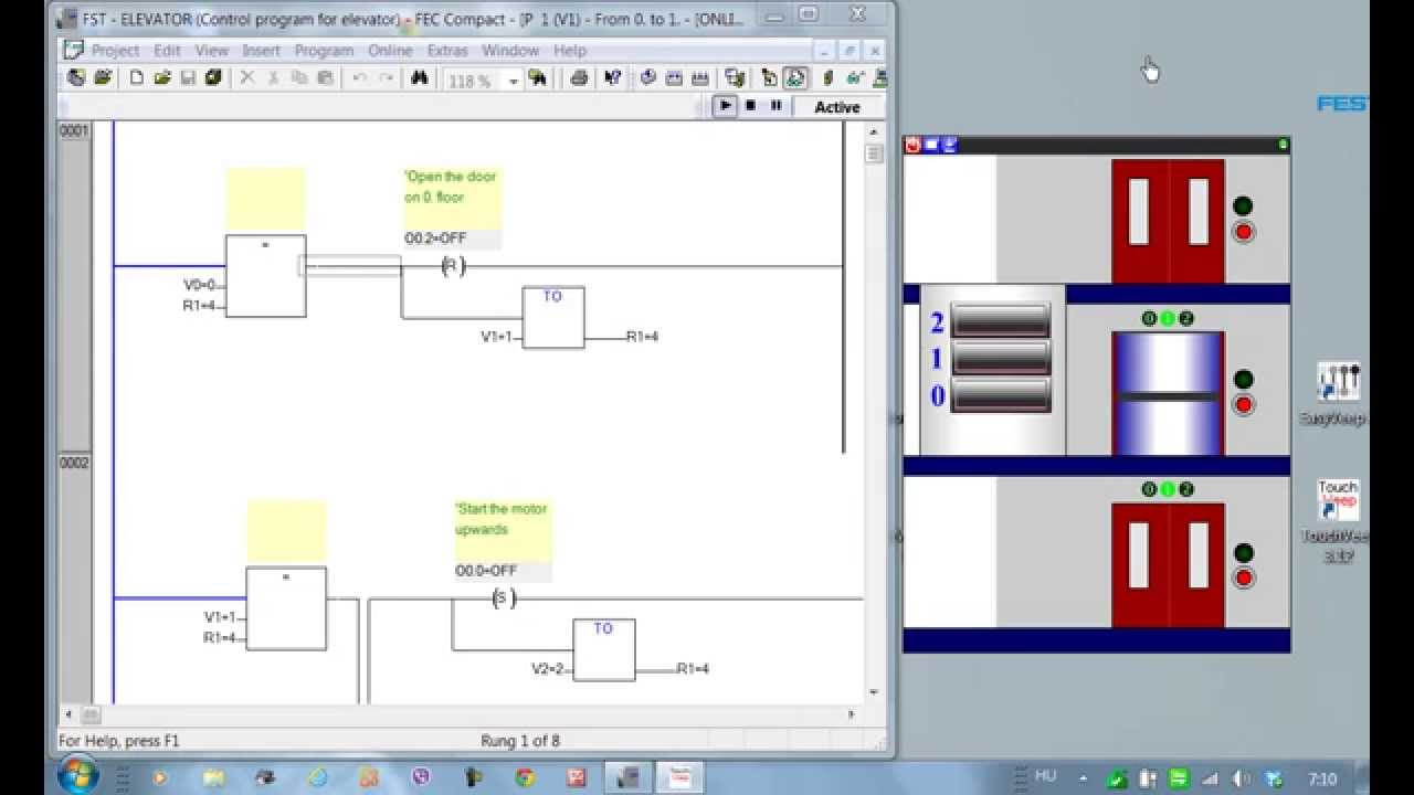 hight resolution of elevator ladder logic diagram