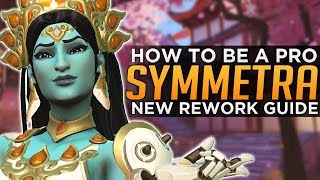 Overwatch: How to Be a PRO Symmetra 3.0 - Seagull Advanced Guide