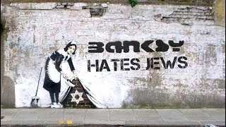 Banksy Hates Jews - The Walled Off Hotel - Bethlehem