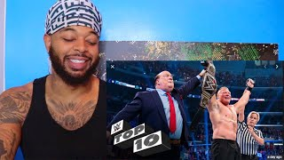 WWE Top 10 Most Shocking Moments of 2019 | Reaction