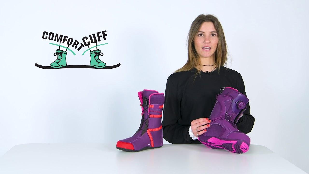 Snowboard Schuhe Snowboardboot HEAD ONE BOA WMN Boot 2019 Snowboard Schuhe Boots