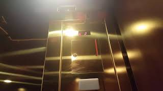 Nice Golden Schindler 330A Hydraulic Elevator @ Brooks Brothers Bayshore town center, Glendale WI