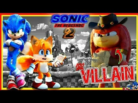 Knuckles Will Be Villain In Tails X Sonic The Hedgehog Movie 2