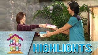 HSH Walang Kapares: Julie and JP eat breakfast together