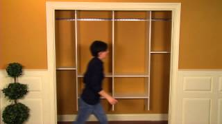 How To Install A Closet Organizer