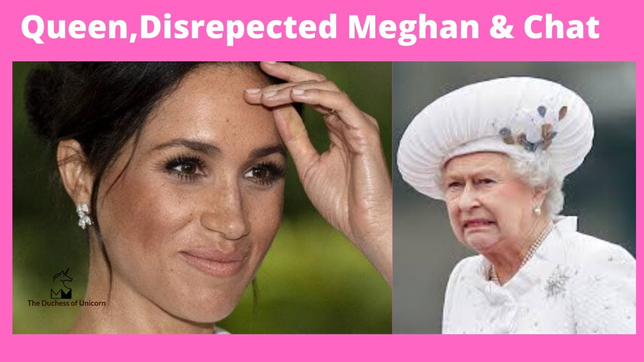 Disrespectful & Meghan Chat