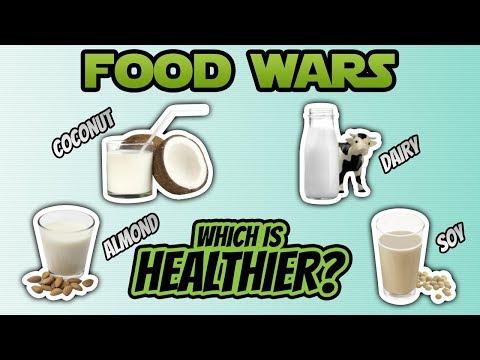 Coconut Milk vs. Almond Milk vs. Soy Milk vs. Dairy Milk (BEST MILK?) | LiveLeanTV