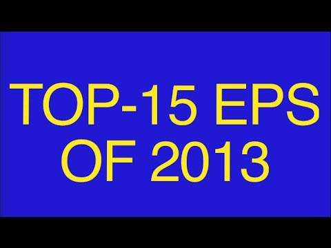 Top-15 EPs of 2013