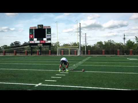 Brandon Chiazza 2017 Kicker (Kicking off the ground)