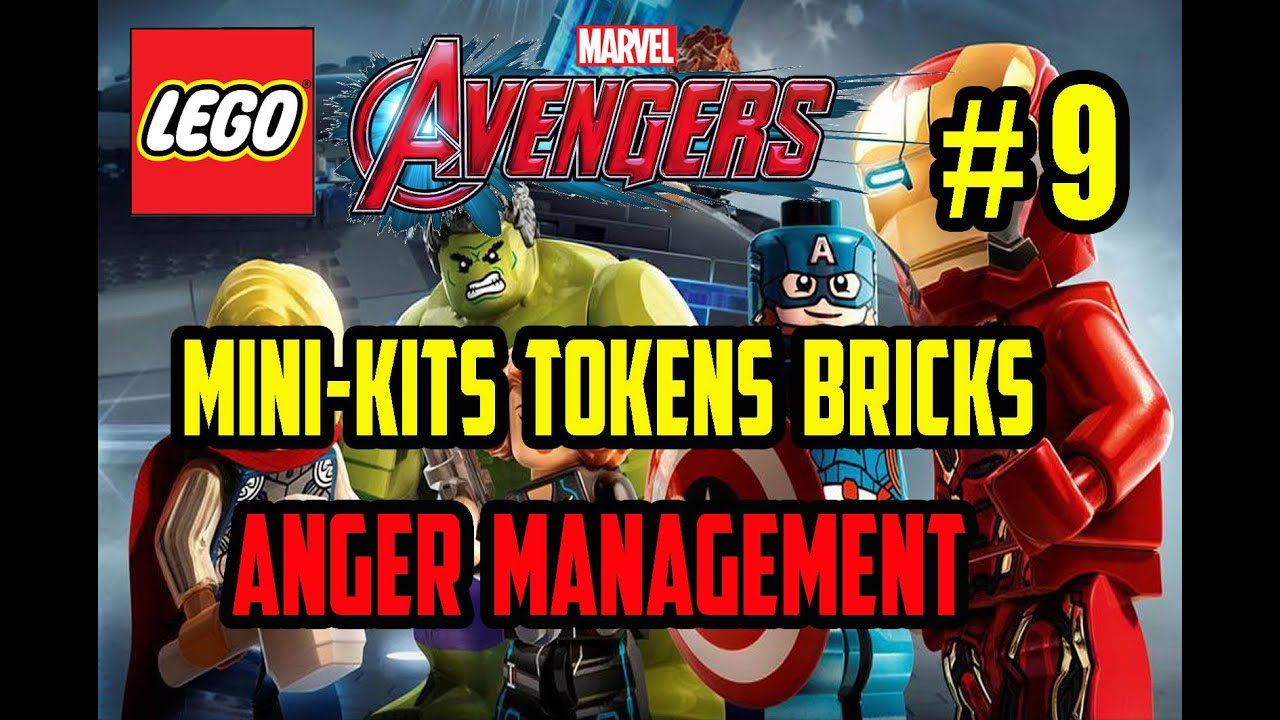 LEGO Marvel Avengers - Anger Management - Mini Kits Tokens ...