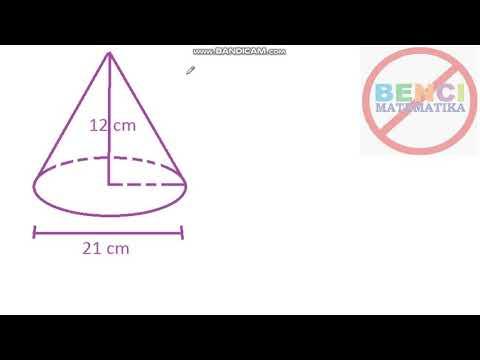 Volume Kerucut Matematika SD