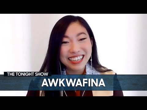 Awkwafina Became the Official Voice of New York Citys 7 Train  The Tonight Show