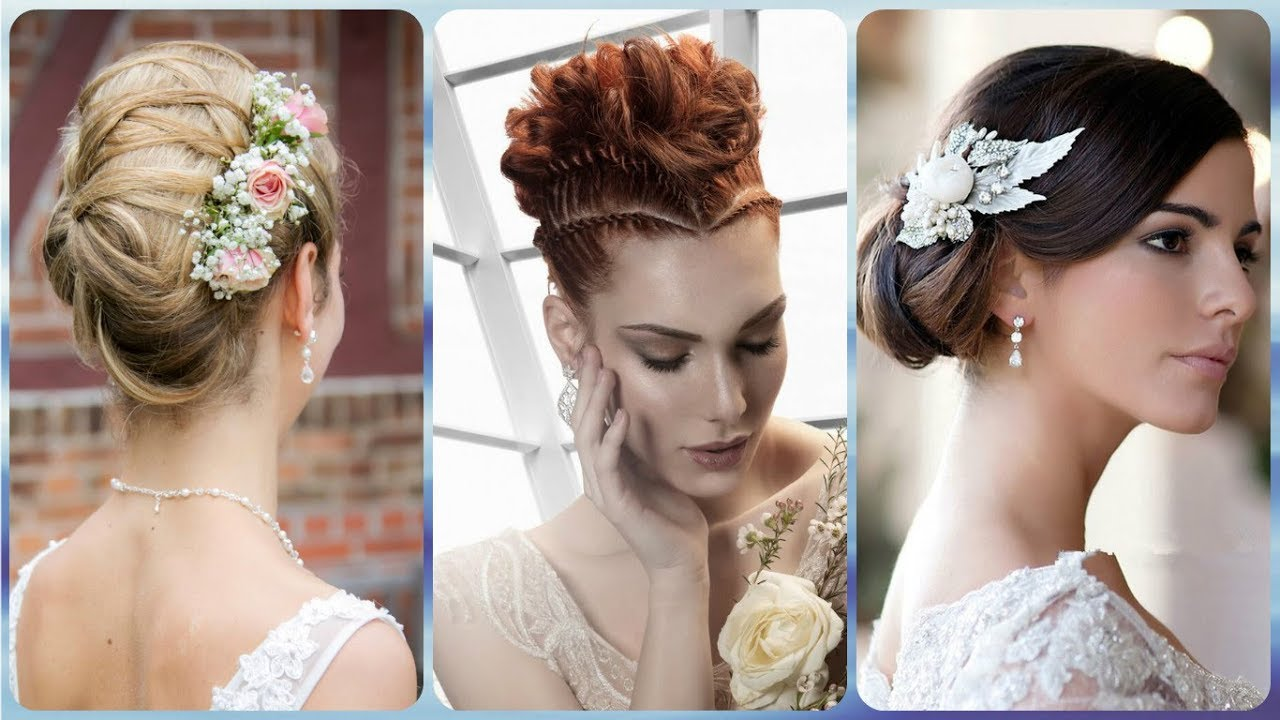 20 Hottest Ideas For Modern Bridal Hairstyles 2019 Youtube