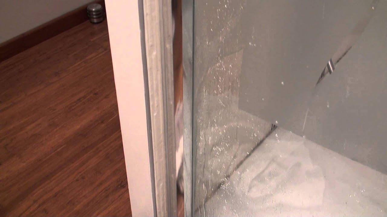 cabine de douche qui fuit