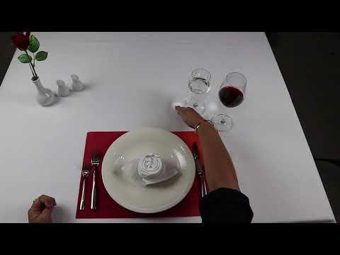 การจัดโต๊ะอาหารแบบสากล