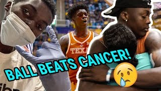 He Got Cancer In The Middle Of The Season. Texas' Andrew Jones Will Stop At NOTHING To Make The NBA!