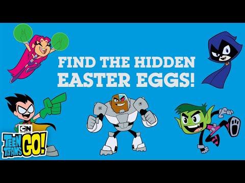 Teen Titans Go! | Easter Egg Hunt: Beast Man | Cartoon Network