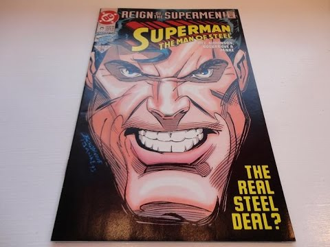 1993 Superman The Man Of Steel Comic Book-Auction Find