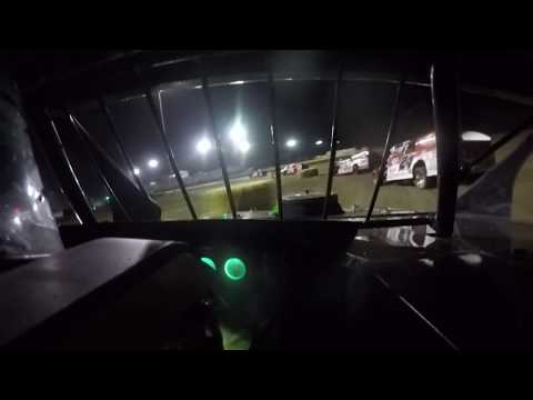 Larry Sutton In-Car | July 6, 2018 | Salina Speedway | A-Feature