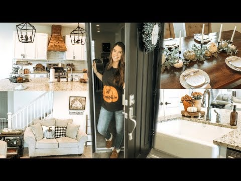 FALL HOME TOUR 2019 | MODERN FARMHOUSE DECOR | FALL DECORATING IDEAS