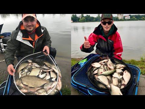 Ловля ляща на озері в Івано-Франківську