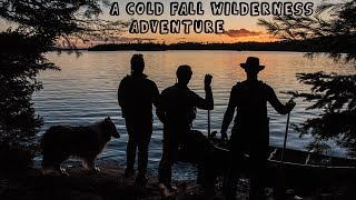 Weeklong Cold Fall Wilderness Adventure