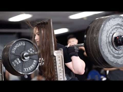 Lifting With The STRONGEST Tested Female Powerlifter In The WORLD   Austin, Texas