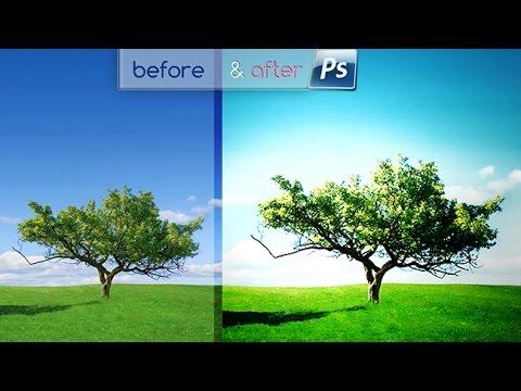 Bahan Pemandangan Buat Edit Foto Bikin Warna Dramatic Fantasy Sunny Light Pemandangan Youtube