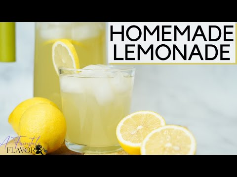 how-to-make-homemade-lemonade-|-easy-recipe