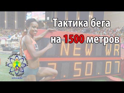 Тактика бега на 1500 метров