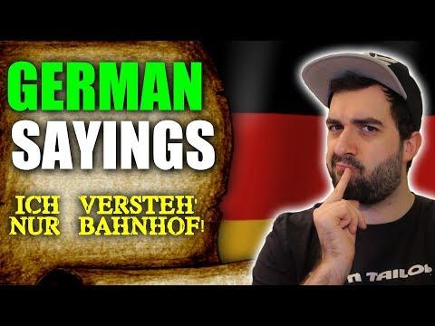 Explaining German  Phrases & Sayings | The Meaning Of 'Ich versteh nur Bahnhof!' | VlogDave