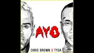 Chris Brown, Tyga - Ayo Instrumental With Hook (Official)