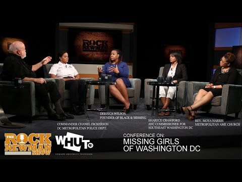 Washington DC Missing Girls on The Rock Newman Show