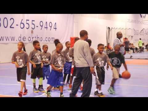 Coach B's Basketball league Team Woody vs Greater Newark