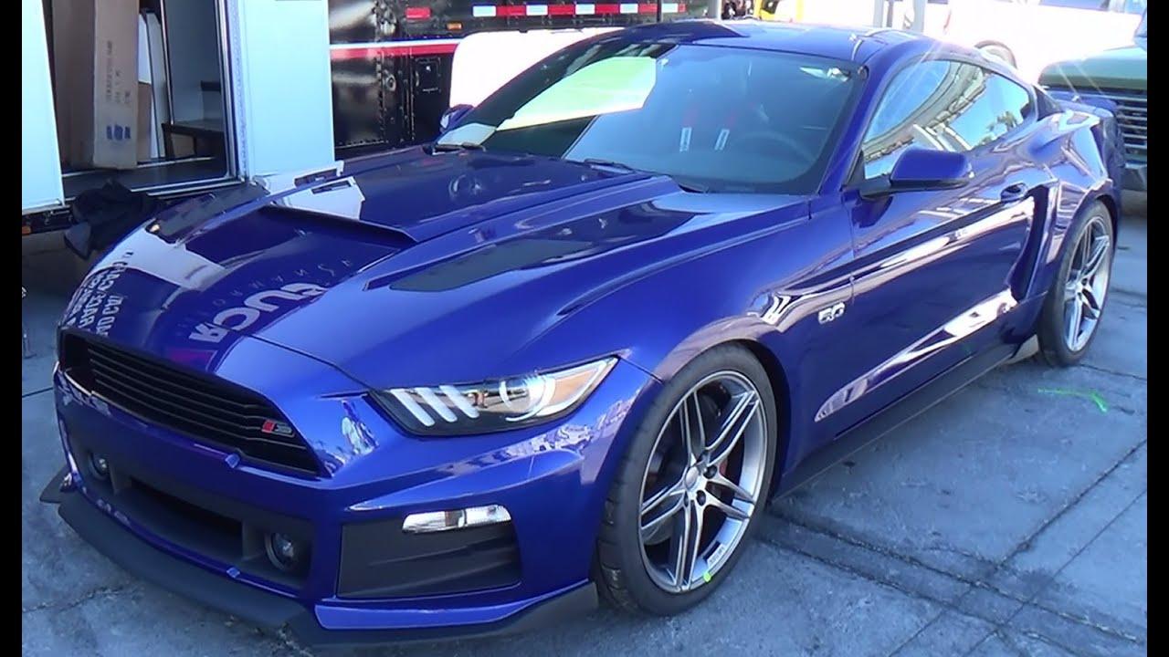 Roush Stage 3 >> 2015 Roush Mustang SEMA 2014 - YouTube