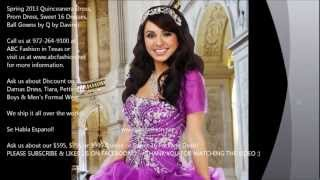Most Beautiful Quinceanera Dress, Prom Dress, Ball Gowns by Q by Davinci Spring 2013