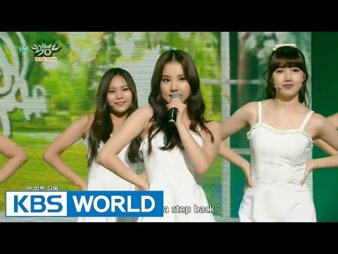 GFRIEND - Me gustas tu | 여자친구 - 오늘부터 우리는 [Music Bank HOT Stage / 2015.09.04]