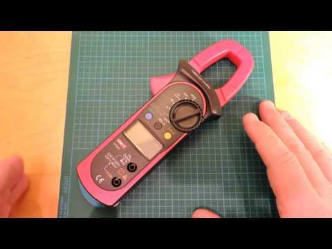 UNI-T UT203 Clamp Multimeter Review