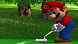 Mario Golf Toadstool Tour - Tournament Mode - Lakitu Cup