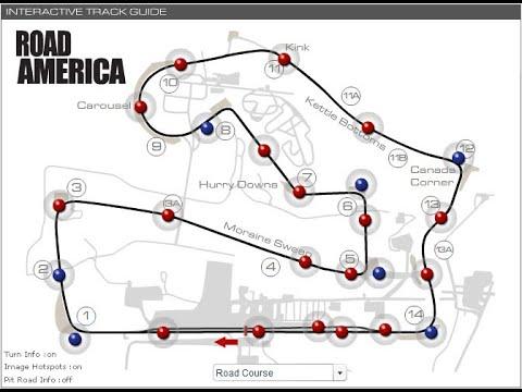 Le Mans Series at Road America Race 11pm EST