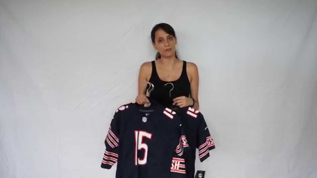 39502237699 How to Choose An NFL Jersey for Women (Size/Fit) - YouTube