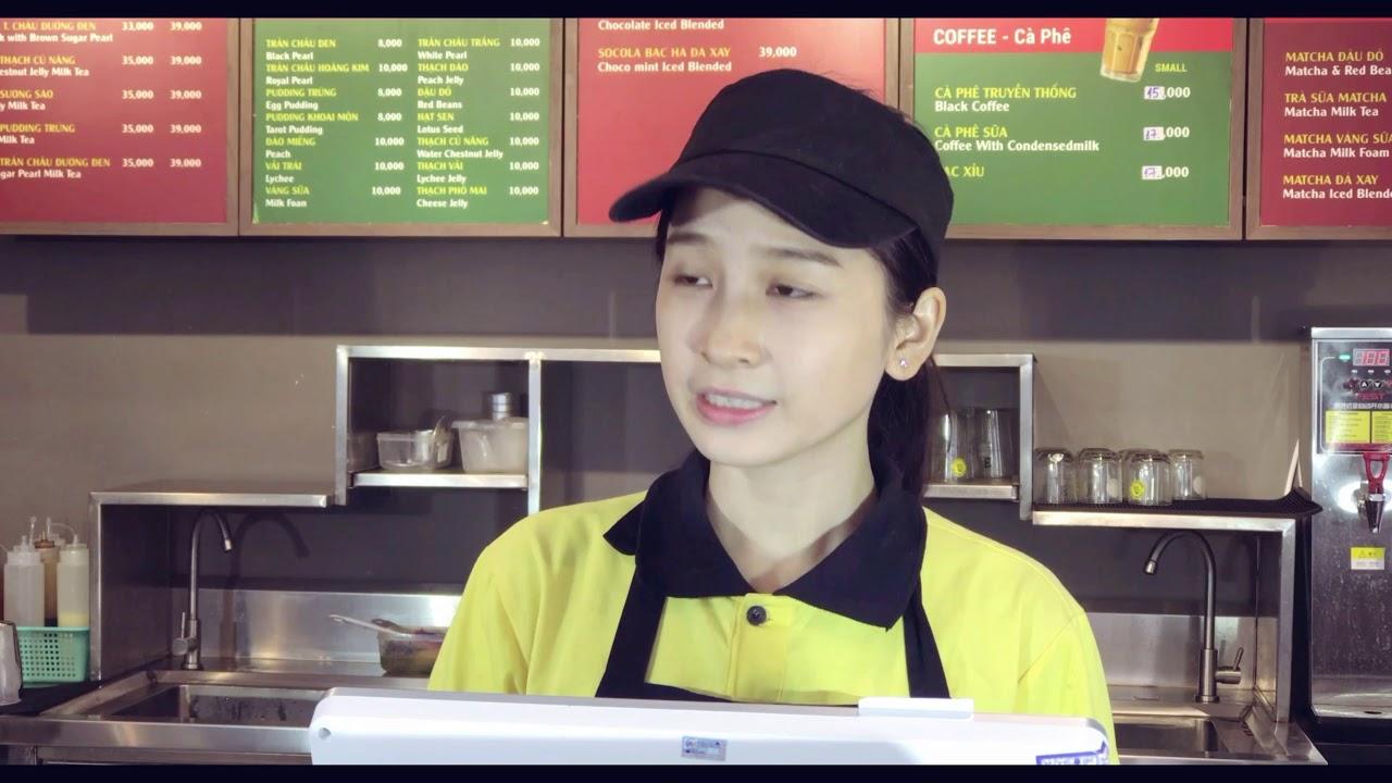 MR KONG COFFEE & TEA_Hướng dẫn thanh toán MoMo