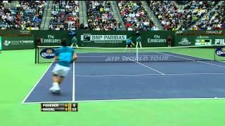 ATP Indian Wells 2012 S.F - Federer vs Nadal (HD)
