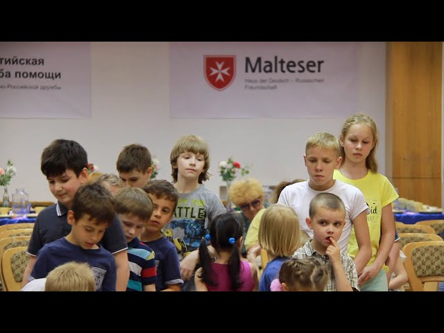 One Day in Malteser's in Moscow Life