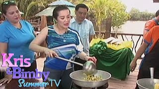 Kris TV: Kris learns to cook Bangus Sisig