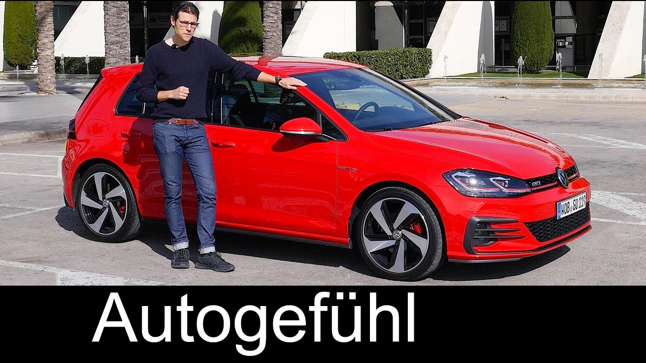 Volkswagen Golf Facelift GTI 230 hp & Highline 1 5 TSI 150 hp FULL