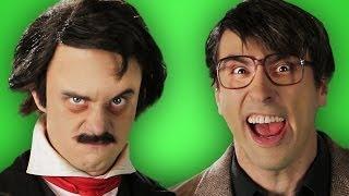 Stephen King vs Edgar Allan Poe. Behind the Scenes of Epic Rap Battles of History.